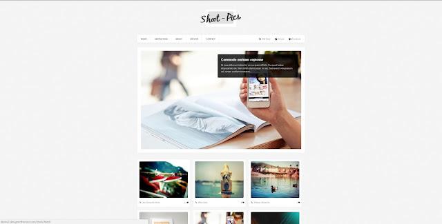 Harika Görünüme Sahip 25 Adet Mobil Uyumlu Blogger Teması