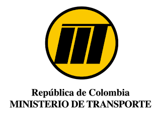 MINISTERIO DE TRANSPORTE COLOMBIA Logo Vector