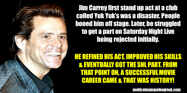 Success Stories From Famous People Who Failed Before Succeeding: Jim Carrey