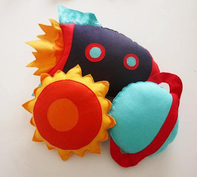 Rocket Cushion set