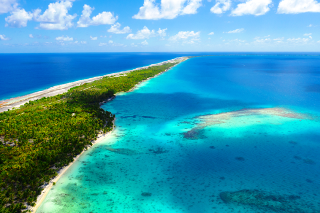 Fakarava é um atol na Polinésia Francesa