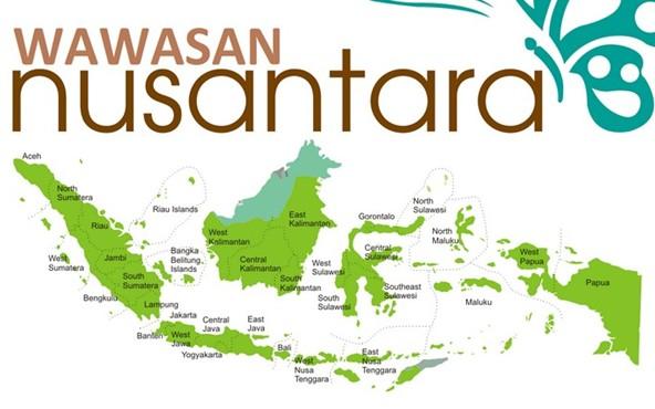 Pengertian Wawasan Nusantara Definisi Tujuan Fungsi Latar Belakang