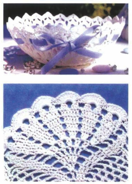 Patrón #1101: Canasta a Crochet