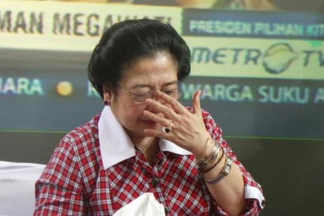 Megawati Bungkam ke Media Pasca Kekalahan Ahok, Ini Curhat Pengurus PDIP