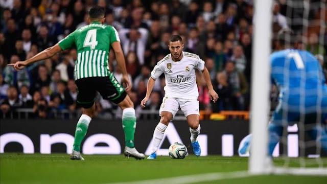 تعثر جديد لريال مدريد بعد تعادله مع ريال بيتيس سلبياً في الدوري الاسباني