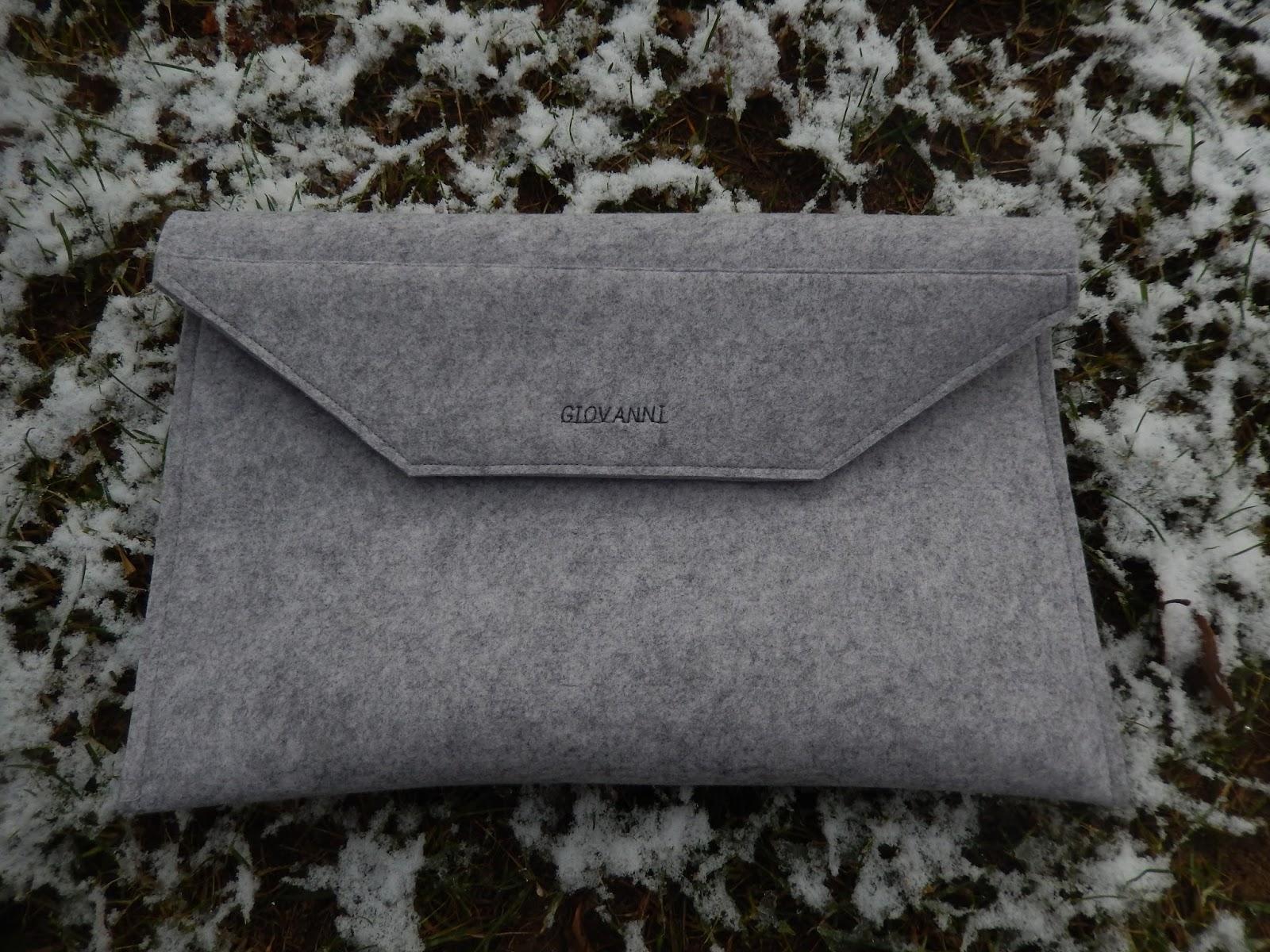 Olivia Twist : Laptoptasche mit Klettverschluss