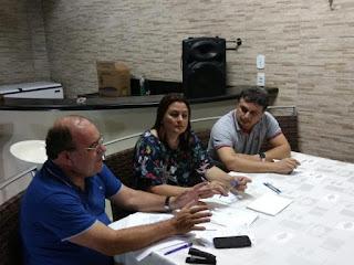 Ex-prefeita de Cuité e pré-candidata a deputada estadual se reúne com correligionários