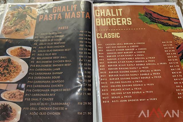 menu Cuba Tempat Makan Baru Di Temerloh, Ghalit Steak Hub