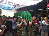Kepedulian Danramil 04/Jebres Kapten Inf Edi Susilo kepada Anggota dan keluarga besar