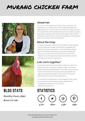 murano chicken farm media page
