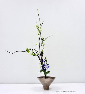 Ikebana-shoka shofutai-wabisabi-escoladikebana