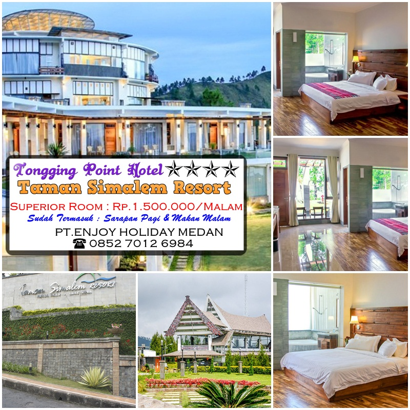 Tongging Point Hotel Taman Simalem Resort