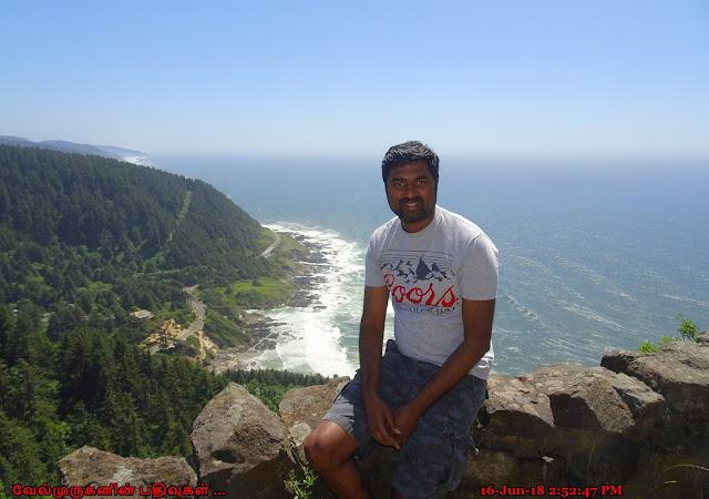 Cape Perpetua Scenic Area Lookout