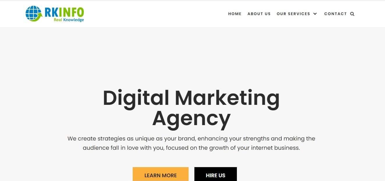 RKinfo - Digital Marketing Company