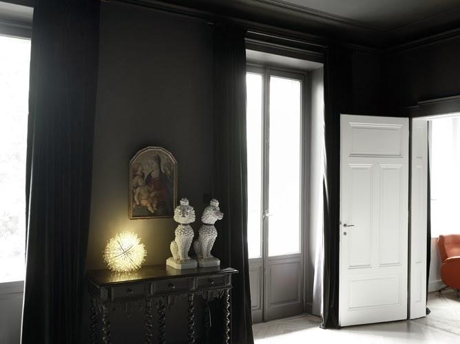 "Dark Interiors on Instagram: ""The office ... |Macabre Interiors"
