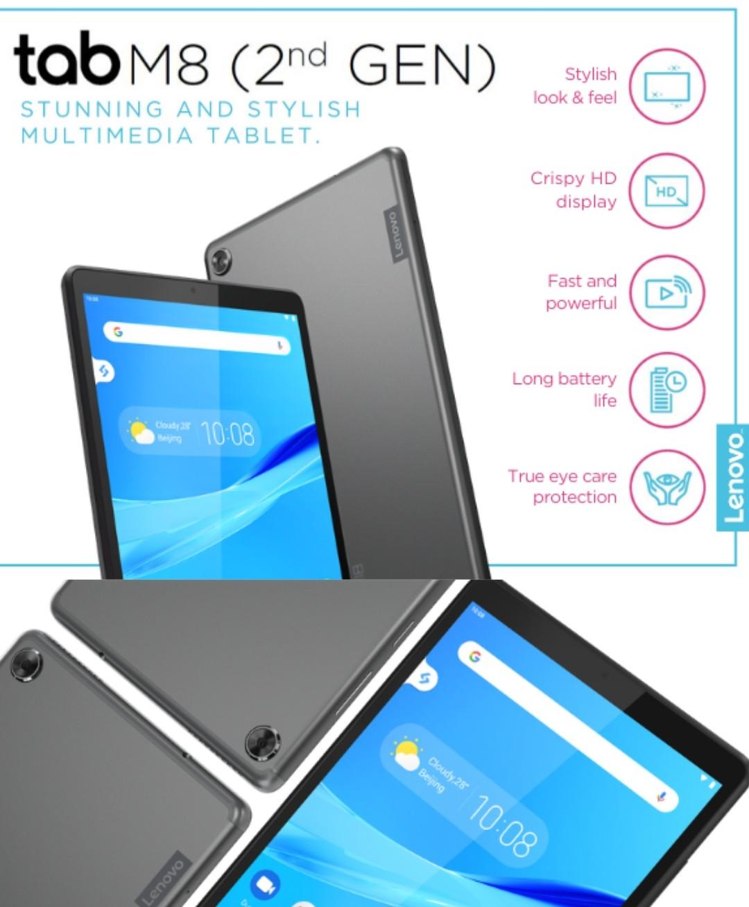 lenovo tab m8 tablet specs