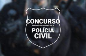Edital confirmado! Concurso Polícia Civil anuncia 1.400 vagas, nove cargos dos níveis Médio e Superior. Veja mais detalhes