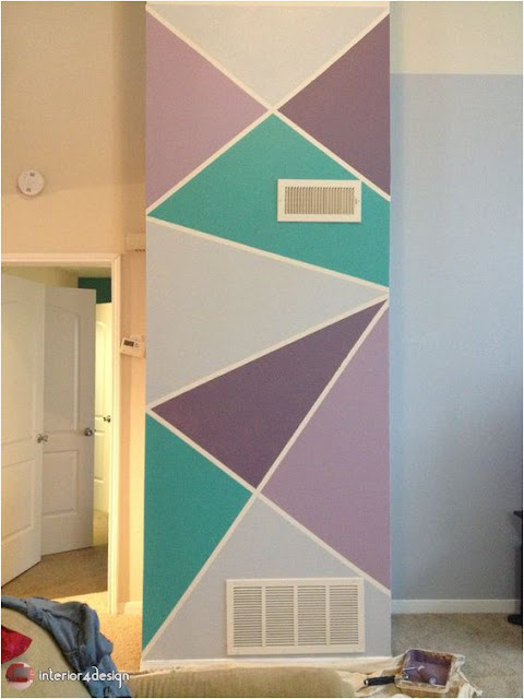 Painting Geometric Shapes 5