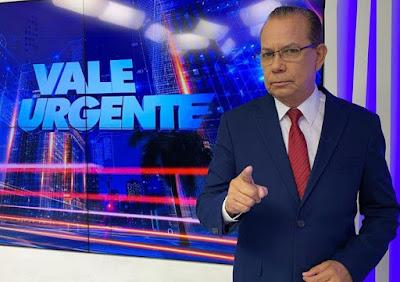 Tony Bleid no comando do Vale Urgente - Divulgação