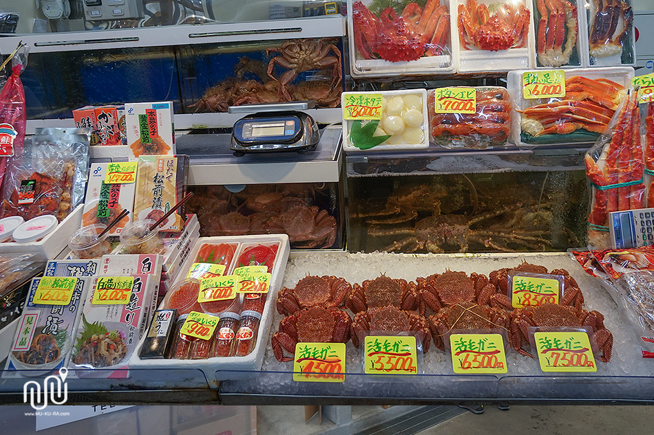 ตลาดปลา Asaichi Morning Market เมือง HAKODATE