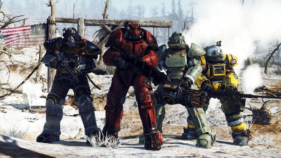 fallout 76 power armor bethesda