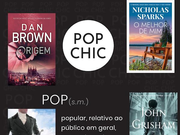 """Editora Arqueiro lança a coleção Pop Chic, em formato """"livro de bolso"""""""