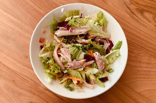 Salade Gerookte Paling