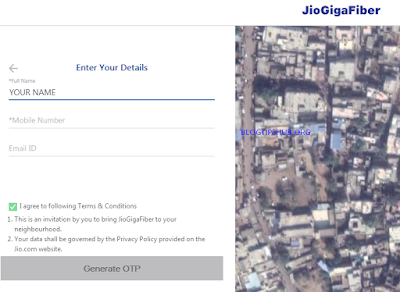 enter your details name, mobile number and email