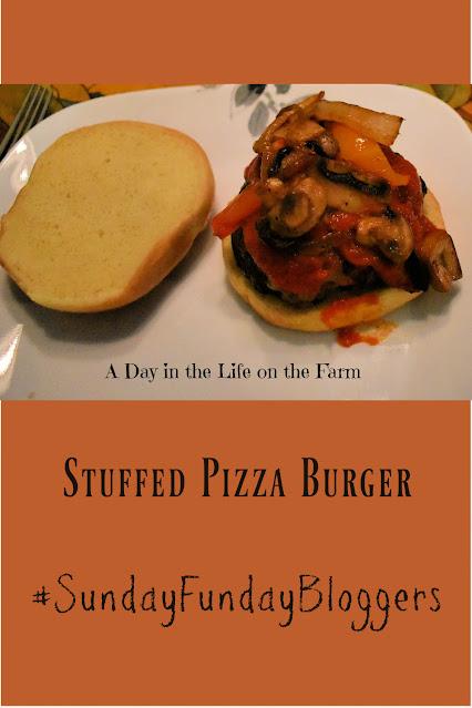 Stuffed Pizza Burgers pin