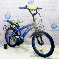 18 wimcycle voltus bmx sepeda anak