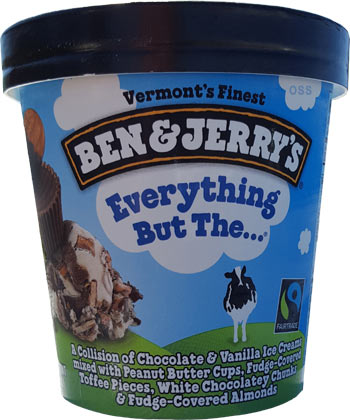 Everything But The Kitchen Sink Ben And Jerry S