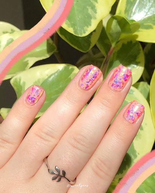 Whats Up Nails Aurora Supreme Flakies