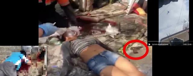 """VIDEO.- Persecución de narcos en territorio de """"El Mencho"""" deja una mujer y un hombre muertos"""