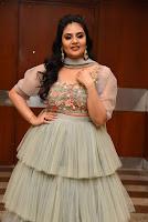 Telugu Actress Sreemukhi Latest Photos at Crazy Uncles Movie Pre Release Event. HeyAndhra.com