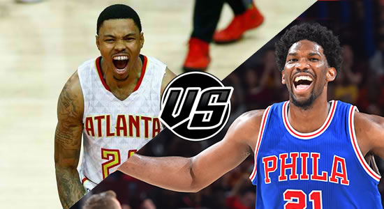 Live Streaming List: Atlanta Hawks vs Philadelphia 76ers 2018-2019 NBA Season
