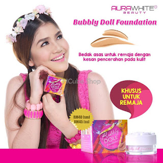 AURAWHITE BUBBLY DOLL FOUNDATION