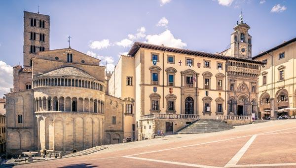 Dove dormire ad Arezzo dai 30 ai 60 euro a notte.