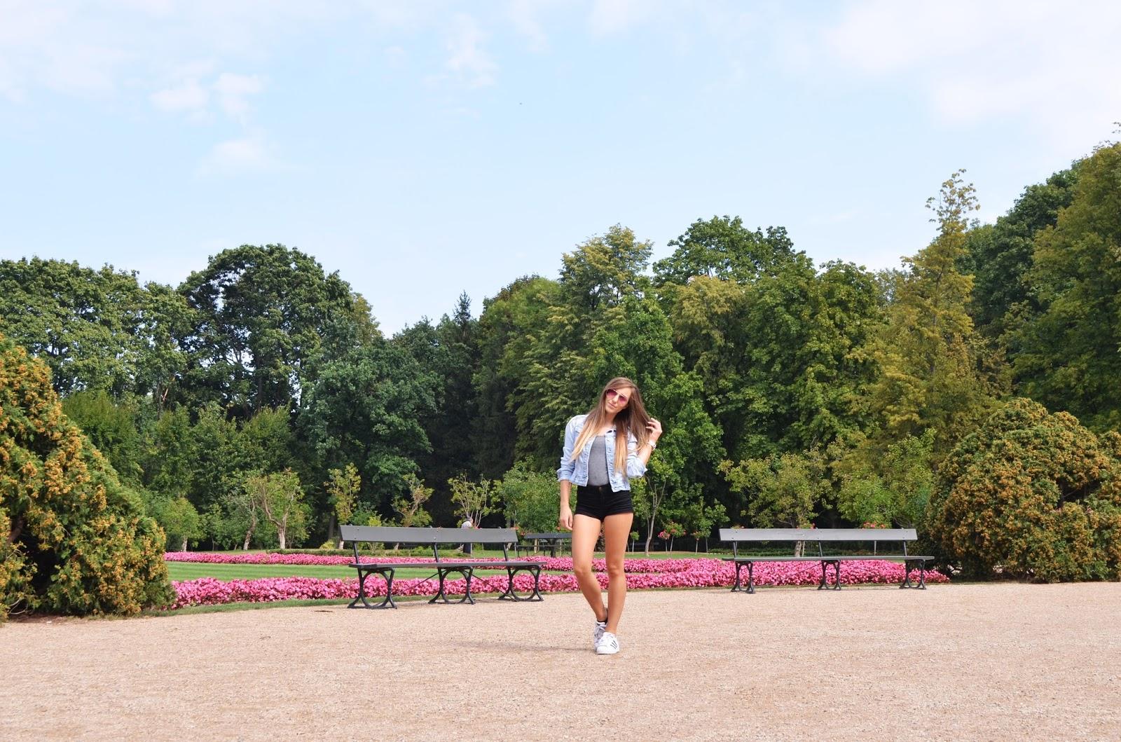 park lazienkowski warszawa