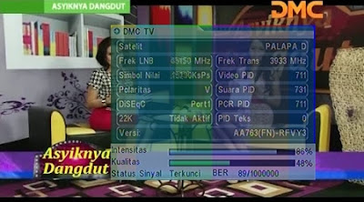 Frekuensi DMC TV Terbaru