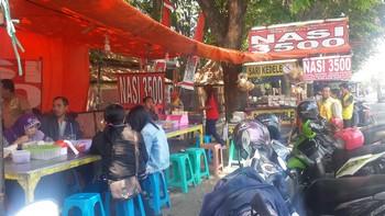 Nasi Bungkus Rp. 3.500-an