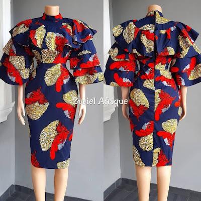 Short Ankara Gown Styles 2020