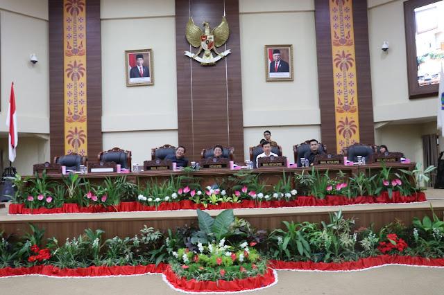 DPRD Sulut Gelar Rapat Paripurna Buka-Tutup Masa Reses dan Penyampaian Laporan Kinerja AKD