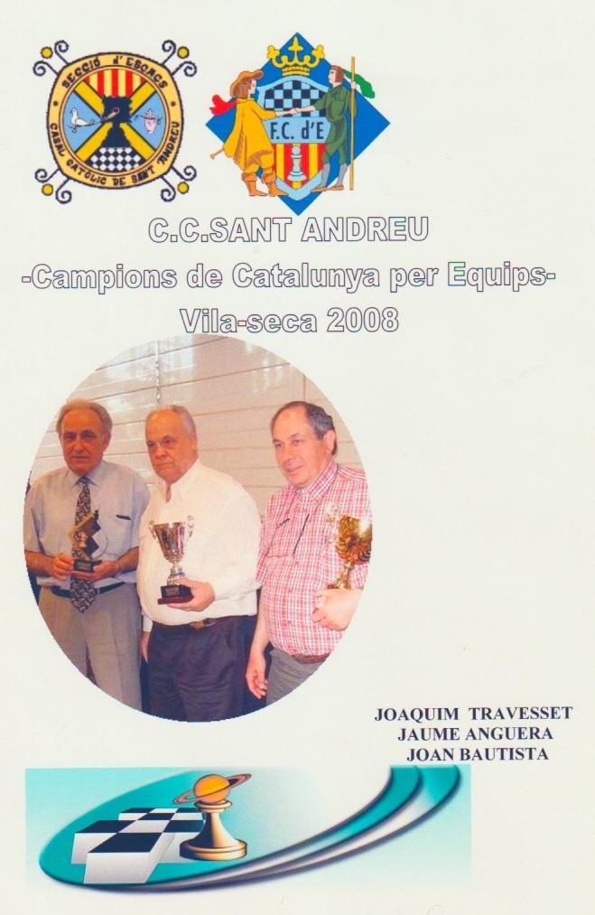 Campeones de Catalunya de Veteranos 2008