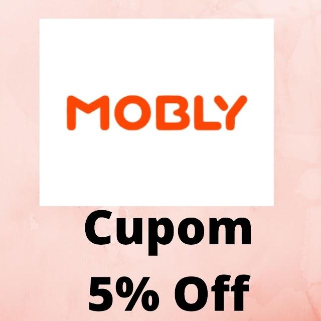 Cupom de Desconto Mobly - 5% Off