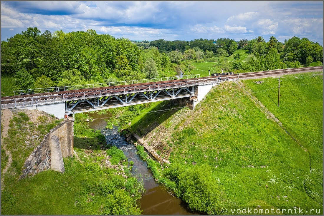 ЖД мост в Междуречье