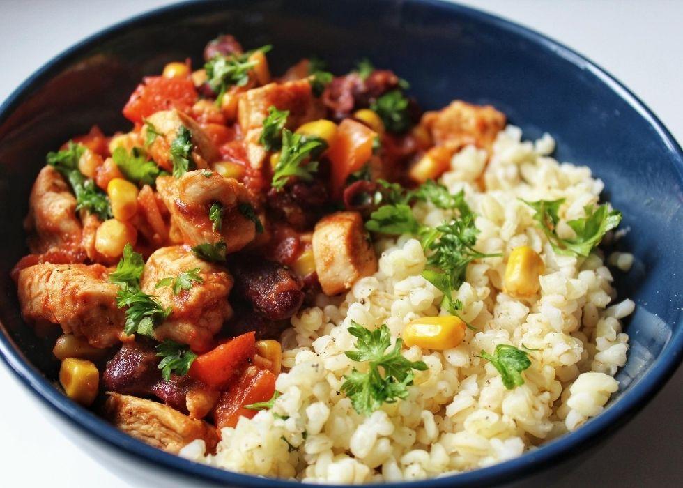 Fit obiad - kurczak po meksykańsku