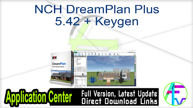 NCH DreamPlan Plus 5.42 + Keygen