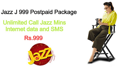 Jazz J 999 Postpaid Package Price Information