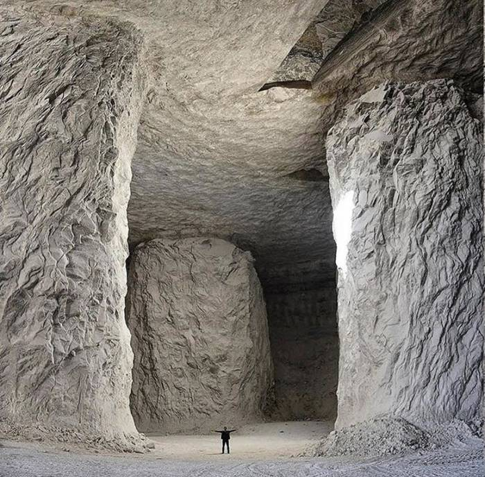Salt Mine in Iran