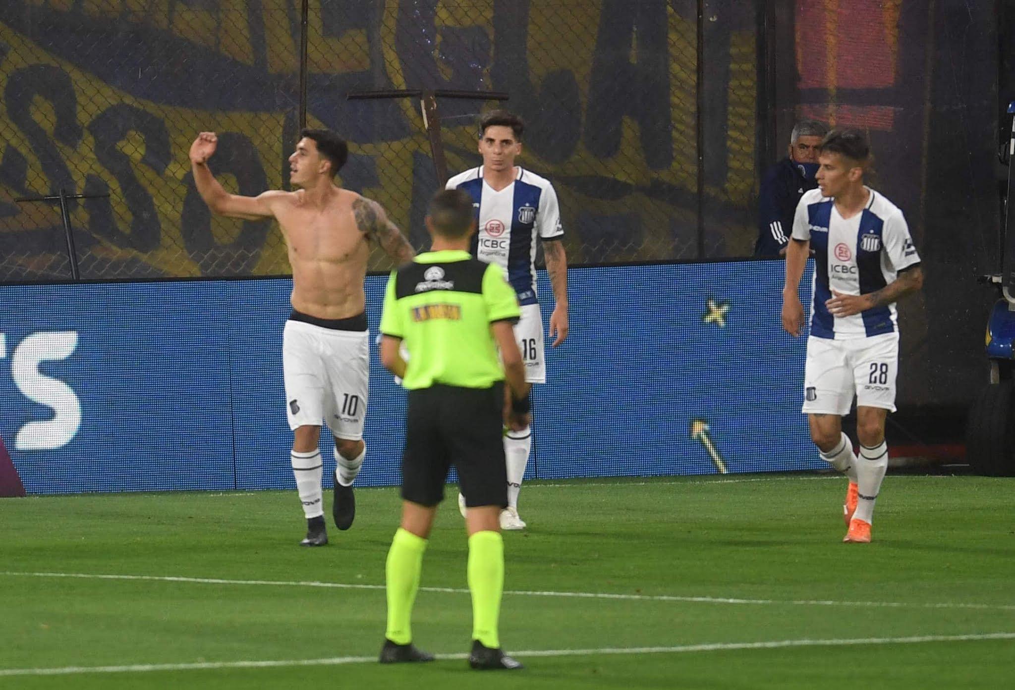 Boca Juniors Talleres resumen del partido